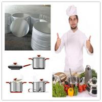 Wholesale Spinning Cookware Aluminium Disc / Circle 1050 1060 1100 3003 For Kitchenware from china suppliers
