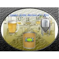 Wholesale 100,000U/G Food Grade Fungal Alpha Amylase Powder For Beer Brewing SINOzym-FAA100BE from china suppliers