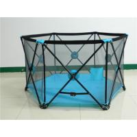 Wholesale Multifunction Metal Pop N Portable Playard For Baby Play Games With 6 Panel from china suppliers