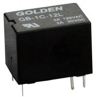Quality Blue / Black High Frequency Relay GC 1A 12V 1A/250VDC 0.15W 12-48VDC DPDT -40~85C for sale