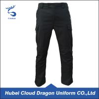 Wholesale Quick Dry Lightweight Twill Security Guard Pants Hand / Machined Wash from china suppliers