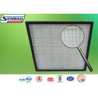Wholesale Pleated Pre Air Conditioning Air Filters 595 x 595 x 46mm G3 / G4 Panel from china suppliers