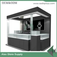 Wholesale Watch kiosk watches design mall kiosk sale wooden customized size display showcase from china suppliers