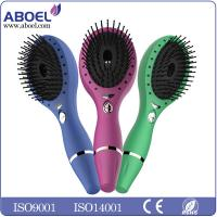 Wholesale Battery Operated Ionic Hair Brush , Portable Female Hair Care Comb from china suppliers
