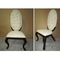 Wholesale Wooden Fabric Modern Dining Room Furniture Chairs With Hand Carved Decoration from china suppliers
