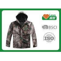 Quality Camo Color Durable Winter Hunting Jacket Fire Retardant For Military Uniform  for sale