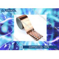 Wholesale Die Cutting Copper insulation tape Roll FOR Electromagnetic Shielding from china suppliers