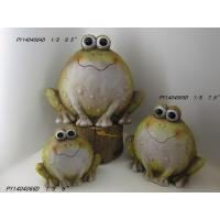 Wholesale Frogs Garden Animal Ornaments , Outdoor Garden Ornaments For Backyard  from china suppliers