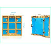Buy cheap Super Slim LED Stage Screen Aluminum Cabinet P3 576 * 576 For Indoor Display from wholesalers