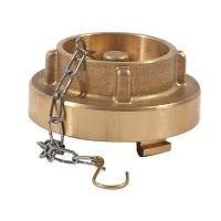 Buy cheap brass blank cap from wholesalers