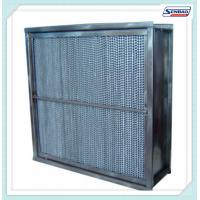 Buy cheap Fiberglass Media High Temperature Hepa Filter Cassette Type Home Hepa Filter from wholesalers