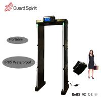 Wholesale High sensitivity Security Metal Detector door Walk through metal detector portable from china suppliers