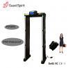 Buy cheap High sensitivity Security Metal Detector door Walk through metal detector portable from wholesalers