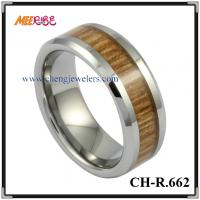 Wholesale Tungsten Jewelry tungsten carbide rings tungsten wedding bands men's tungsten ring wood inlaid tungsten rings from china suppliers