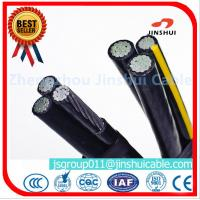 Wholesale 3 * 70 + 70 Sq Mm Aluminum Overhead Power Cables Quaduplex Wire Eco - Friendly from china suppliers