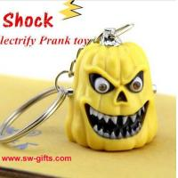 Wholesale Funny Hallowmas Pumpkin Type Electric Shock Toy Novelty Joke Gifts Prank Toys Trick Toy from china suppliers