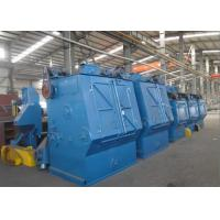 Quality Fully Automated Crawler Belt Shot Blasting Equipment For Cleaning Parts for sale