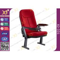 Wholesale Foldable Aluminum Leg Auditorium Seating Chairs Tip Up Seat With ABS Tablet from china suppliers