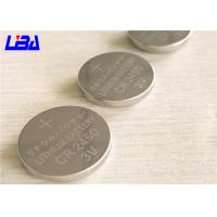 Wholesale High Capacity Button Cell Battery , High Energy Density Cr2450 3v Battery from china suppliers
