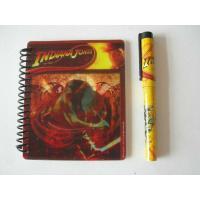 Wholesale PVC slipcase with 128g 4c print Lenticular Notebook, 13 * 13cm / 7.5 * 7.5cm from china suppliers
