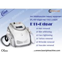 Wholesale Portable  IPL RF ND YAG Laser Hair Removal Machine For Acne Treatment from china suppliers