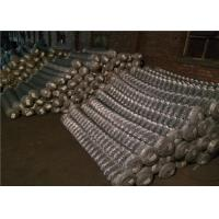 Wholesale Hot Dipped Galvanized Wire Mesh Fencing Barbed Selvages Highly Security from china suppliers