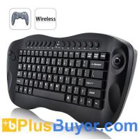 Wholesale Mini Wireless Computer Keyboard with Trackball from china suppliers