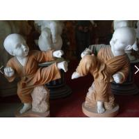 Wholesale Stone Art Kung fu boy handicraft from china suppliers