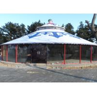 Quality Luxury Weather Proof Mongolian Yurt Tent For Resort / Banquet / Restaurant for sale