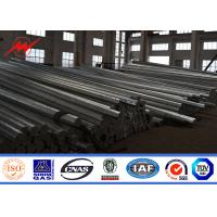 Wholesale Polygonal 33KV 12m Electrical Transmission Steel Utility Pole With Cross Arms from china suppliers
