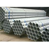 Wholesale BS 1387 ASTM A53 Round Metal Steel Pipe , Zinc Coated Steel Pipe Bevelled Or Plain Ends from china suppliers
