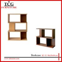 Quality simple melamine honeycomb board cube wooden bookcase for sale