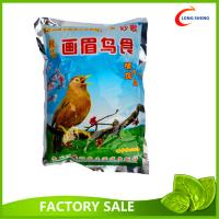 Wholesale Flat Heat Seal Style Plastic Packaging Bags , Bird Seeds Packaging Bags from china suppliers