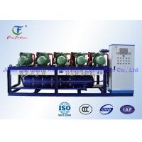 Wholesale Parallel Screw Compressor Unit , Blast Freezer Bitzer Condensing Unit from china suppliers