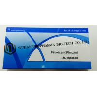 Wholesale Western Medicine Piroxicam Injection 20mg/1ml  (Has analgesic, anti-inflammatory and antipyretic effect ) from china suppliers