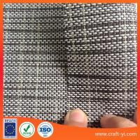 Wholesale Outdoor Mesh Fabric For Furniture in white black mix color 1x1 weave from china suppliers