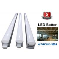 China EnergySaving Connectable LED Batten Fix Light Fittings 600mm 1200mm 100lm/w on sale