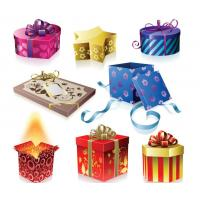 Wholesale High Quality Die-cut Handle Paper Gift box from china suppliers
