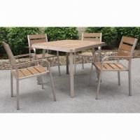 Wholesale New Model Square Dining Table Set, Suitable for Indoor and Outdoor Use, Easy to Assemble from china suppliers