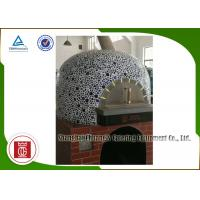 Wholesale Indoor Napoli Italy Pizza Oven Natural Lava Rock Gas Heating Round Top from china suppliers