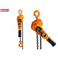 Wholesale Heavy Duty Manual Chian Lever Pulley Hoist 0.5 Ton , Maximum Lifting Height 18M from china suppliers