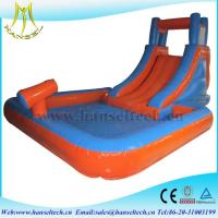 Wholesale Hansel high quality PVC material commercila inflatable bouncer slide inflatable play area for children from china suppliers