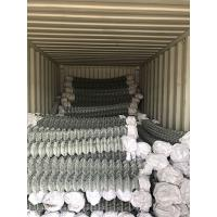 Buy cheap 2.5mm - 4mm Galvanized Chain Link Netting Security Fence Mesh Anti Rust For Agriculature from wholesalers