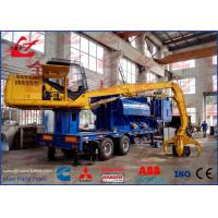 Wholesale Portable Hydraulic Metal Baler Logger Mobile Scrap Baling Press Steel Compactor from china suppliers