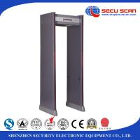 Wholesale Waterproof Multi Zones Security Metal Detector Gate With Led Light from china suppliers