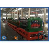 Wholesale Plc System Steel Silo Corrugated Side Panel Roll Forming Machine 12-15m/min from china suppliers