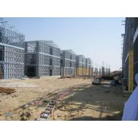 Wholesale Steel Frame Apartment Building / Typhoon Resistance Prefabricated Homes from china suppliers