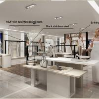Wholesale Interior design retail clothes shop counters for sale from china suppliers