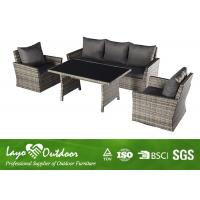 Wholesale Good Design Rattan Sofa Sets Garden Conversation Set Patio Furniture Durable from china suppliers