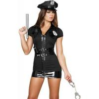 China Halloween Party Adult Costumes Cop Prisoner Costumes Naughty Patrol Police Officer for sale